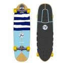"Surf skate YOW Waikiki Way 32"""