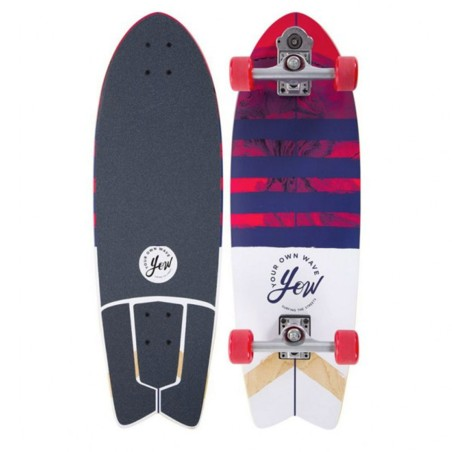 Surf skate YOW Bay Avenue 31.5""