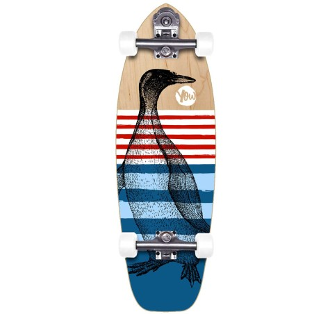 "Surf skate YOW Teahupoo Alley 31"" V2 Cruiser"