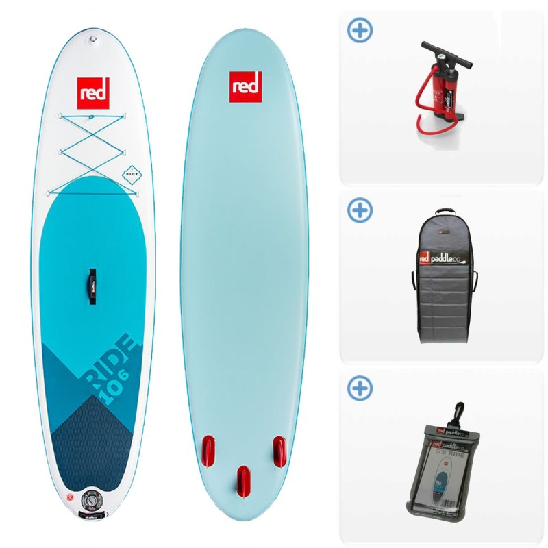 SUP Gonflable Red Paddle Ride MSL Fusion 2018