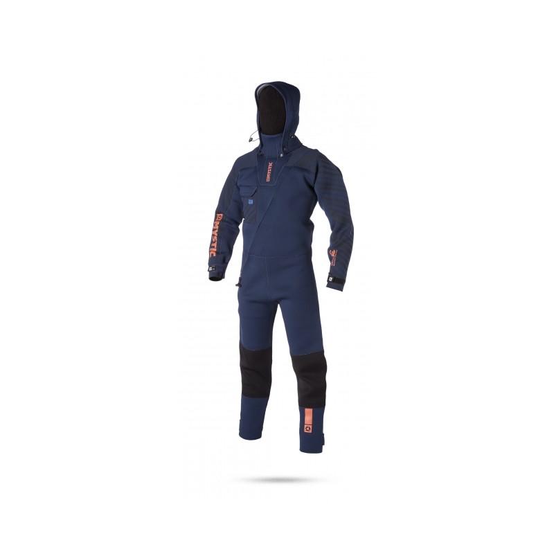 Mystic Vulcanic Neoprene Drysuit 2017 Bleu