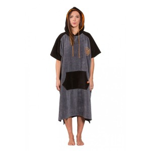 After Poncho High End - Dark Grey