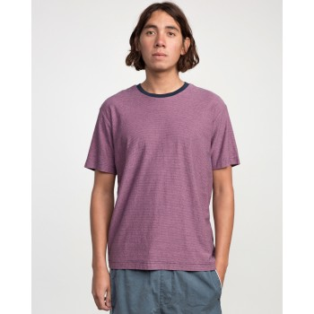 T-shirt RVCA Theodore SS Tee Rose