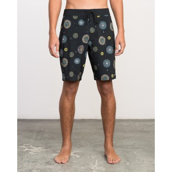 Boardshort RVCA Pelletier Trunk RVCA Black