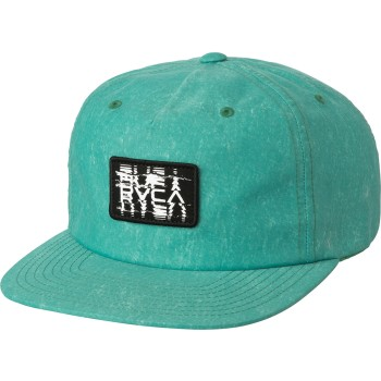 Casquette RVCA RTS Unstructured Teal