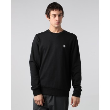 Pull Element Cornell Classic Crewneck Flint Black