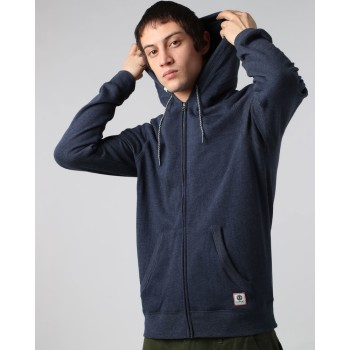 Sweat Element Cornell Overdye Zip Hoodie Indigo