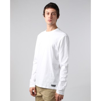 T-shirt Element Basic Crew Long Sleeve Optical White