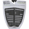 Pad surf Slater Design - Traction 4 pieces