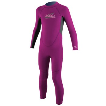 O'neill Youth Reactor Toddler Full Pink
