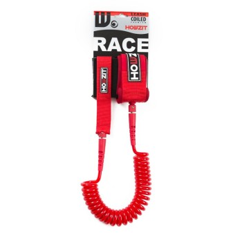 Leash SUP Howzit Coiled 9' / 8mm RED