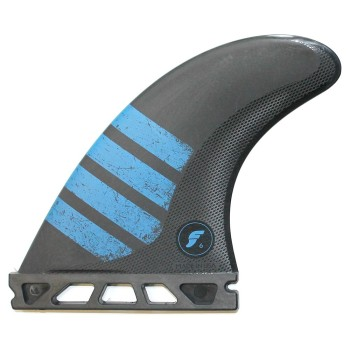 Ailerons Future Tri Fins - F4 ALPHA series Carbon Red