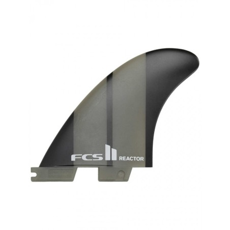 Ailerons surf FCS Reactor NEO glass Thruster Black Medium