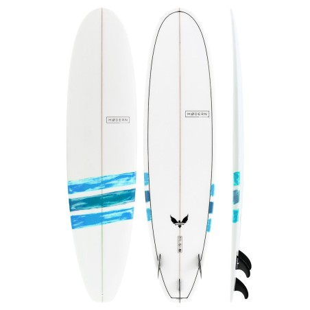 Planche de Surf Modern Surfboards Black Bird PU Basic Blue