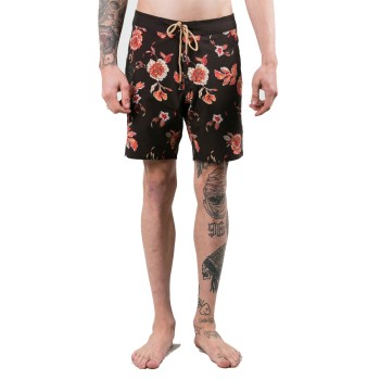Rusty Boardshort Heathen Black