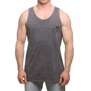 Rusty T-shirt Short Sleeve Tank Coal