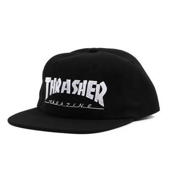 Casquette Trasher Magazine Logo Black