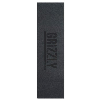 Grip Grizzly Plaque Stamp Print Black