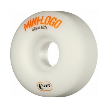 Roues Mini Logo C-Cut 101A White