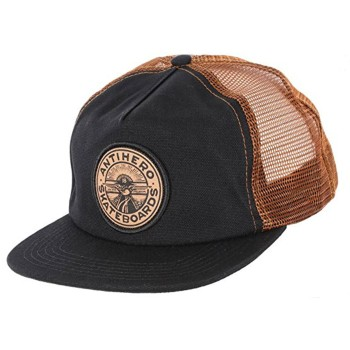 Casquette Antihero Tan Trucker BLack