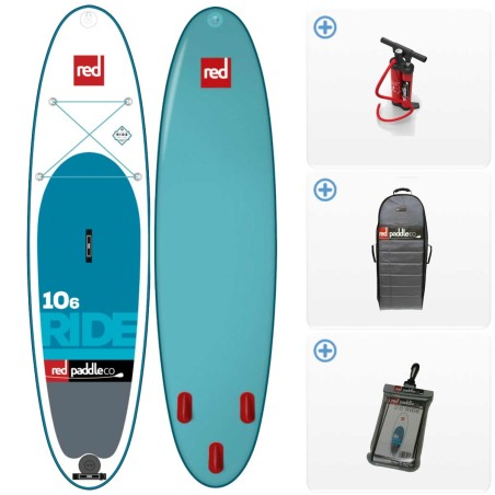 SUP Gonflable Red Paddle Ride MSL Fusion