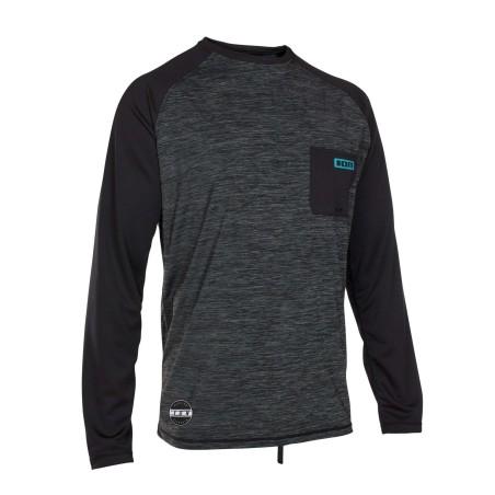 Lycra ION Wetshirt LS 2018 Black Melange