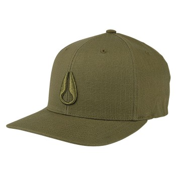 Casquette Nixon Iconed Scout 110 Avocado