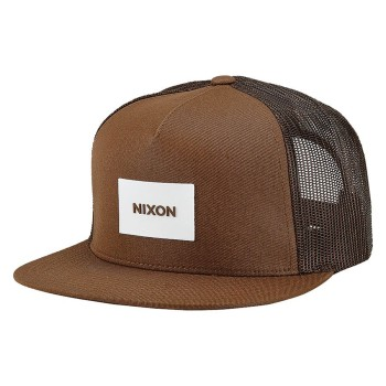 Casquette Nixon Team Brown