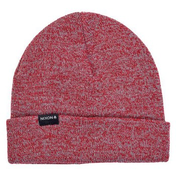 Bonnet Nixon Logan Beanie Red