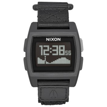 Montre Nixon Base Tide Nylon All Black