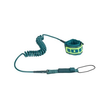 ION SUP Core Leash Coiled Kneestrap 10' (Petrol)