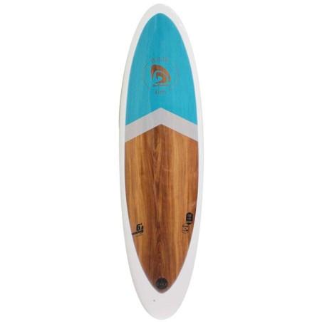 Planche de Surf Surfactory Malibu Wood