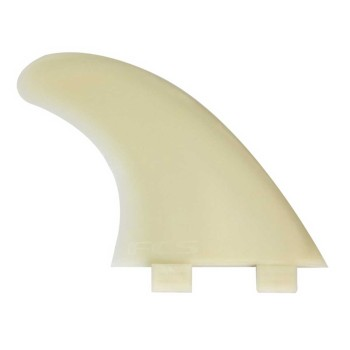 Ailerons FCS M5 natural glass tri set