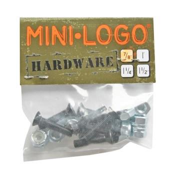 Mini Lgo Visserie (Jeu de 8 vis) cruciforme 0.875 pouce
