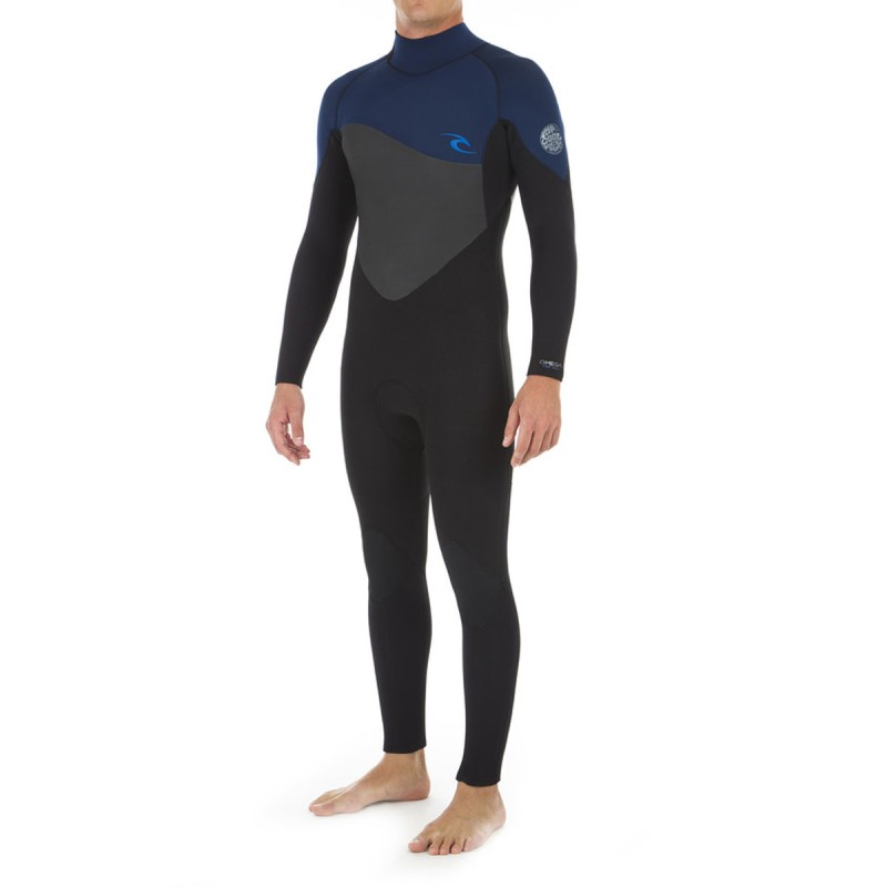 Combinaison Rip Curl Omega 5/3 BACK ZIP 2019 Navy