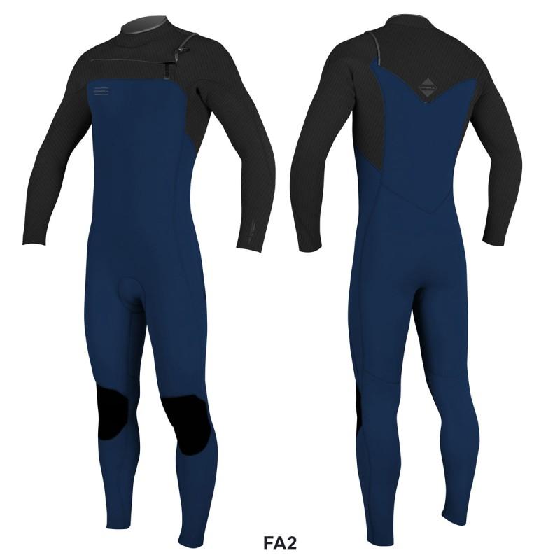 Combinaison O'Neill Hyperfreak FUZE 2019 Front Zip 5/4 Abyss/Black