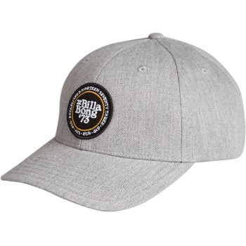 Casquette Billabong Walled Snapback Grey Heather