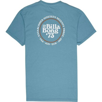 T-Shirt Billabong Cruiser Washed Blue