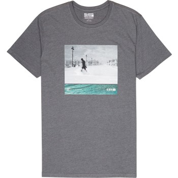 T-Shirt Billabong Swell Seeker Dark Grey Heather