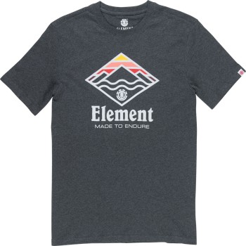 T-Shirt Element Layer Charcoal Heather