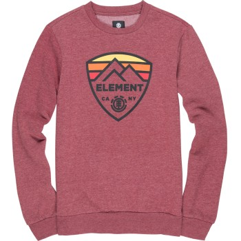Sweat Element Guard Crew Ruby Wine
