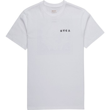 T-Shirt RVCA Detention White