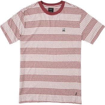 T-Shirt RVCA Longsight Bordeaux