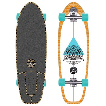 Surf skate YOW Teahupoo 34'' Power Surfing Series