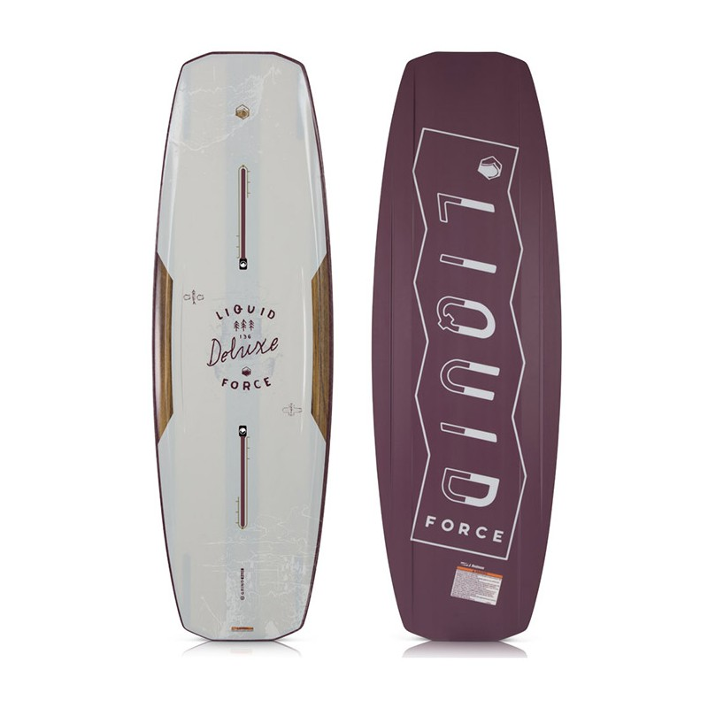 Planche wakeboard Liquid Force Deluxe 2018 Taille