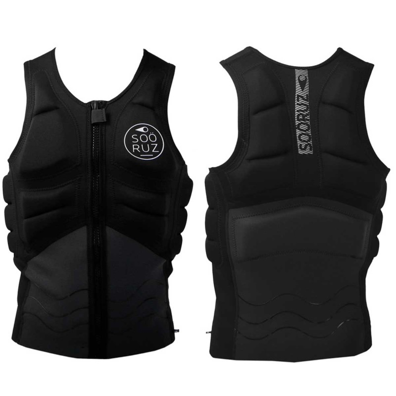 Kitevest Sooruz Front Zip Open 2017, Black