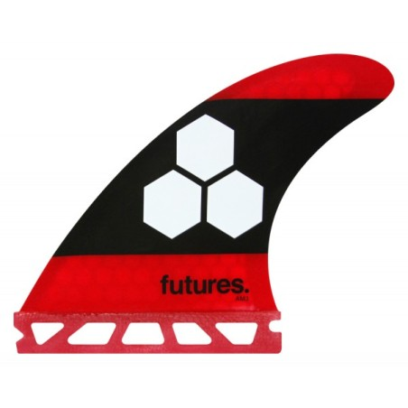 Ailerons Surf - Future FAM3 RTM Hex Red & Black
