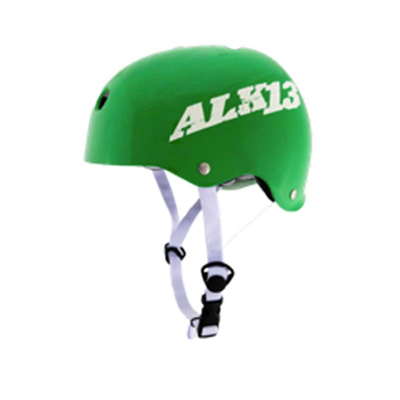 Casque ALK13 H2O+ Green White Logo