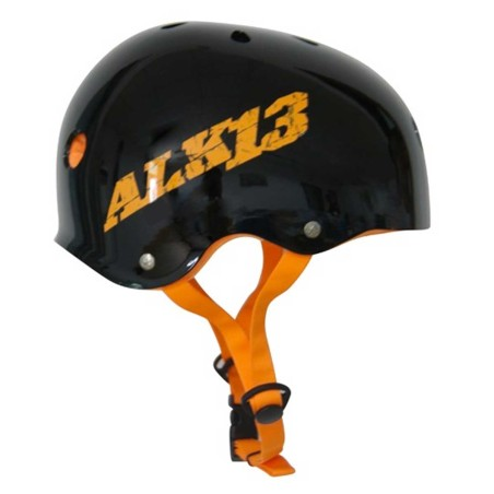 Casque ALK13 H2O+ Black - Orange Logo