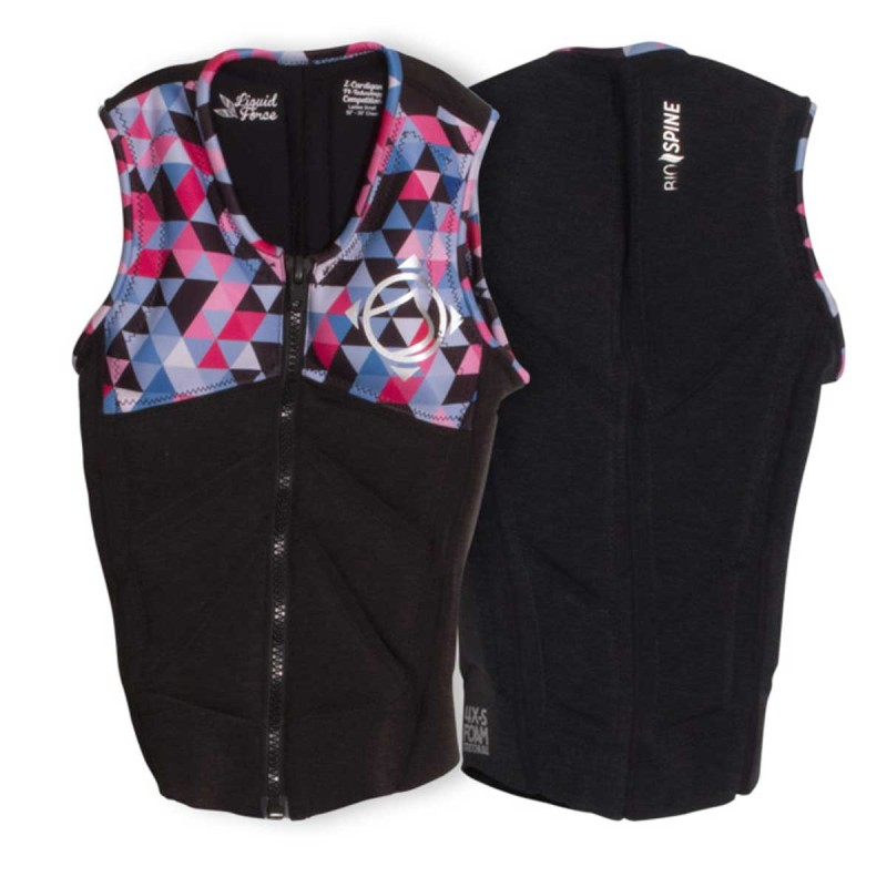 Impact Vest Liquid Force Z-Cardigan Women 2017 Black
